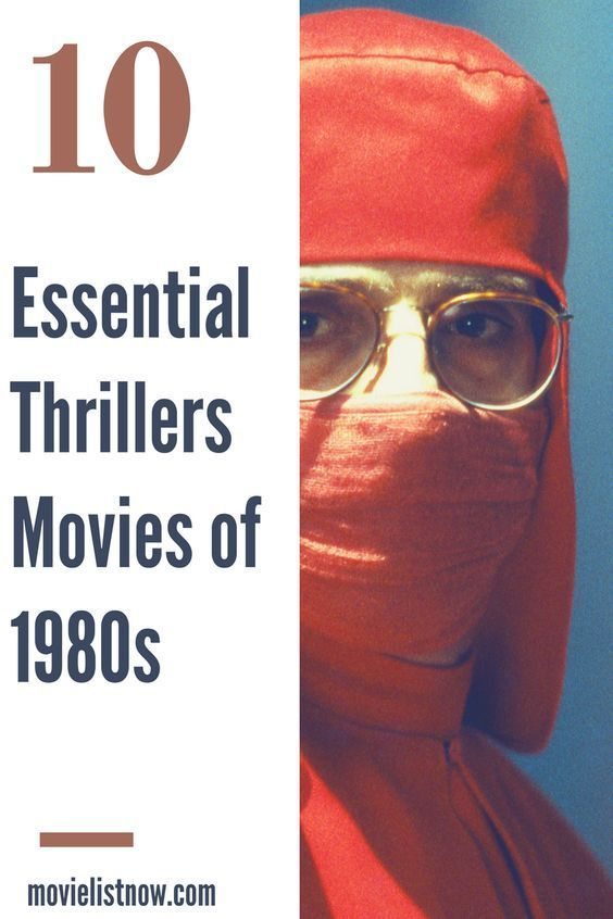 10 Essential Thriller Movies of the 1980s - Movie List Now